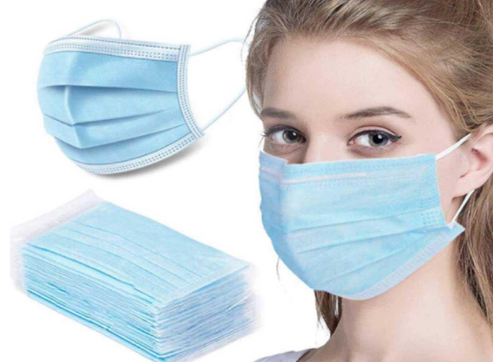 Facial Mask 3 Ply