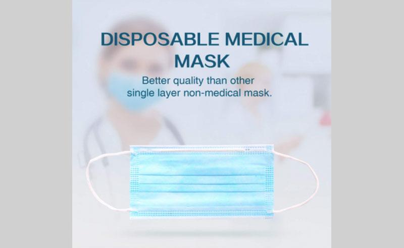 3 Ply Facial Mask 3 Ply