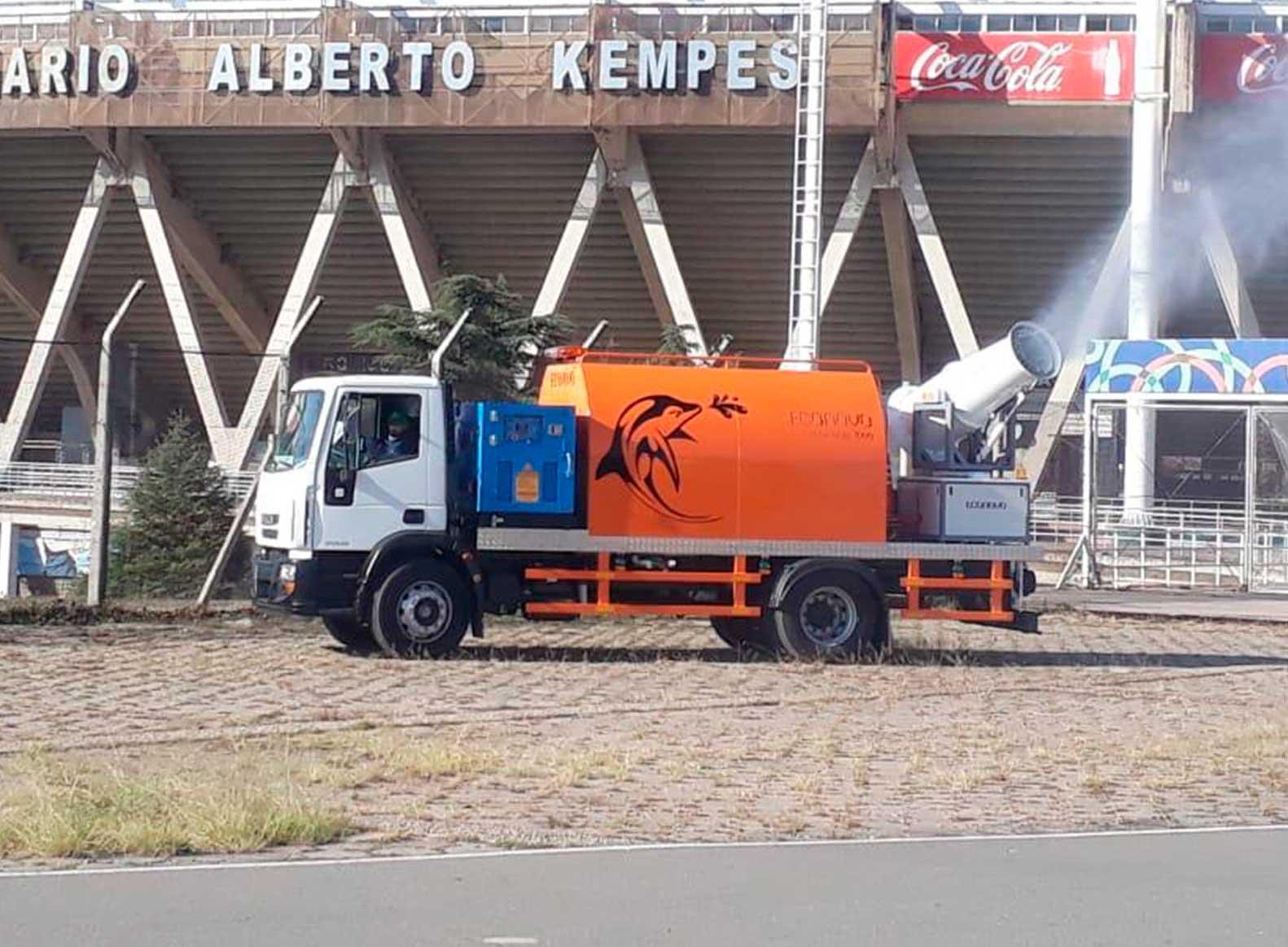 Truck Sanitizer